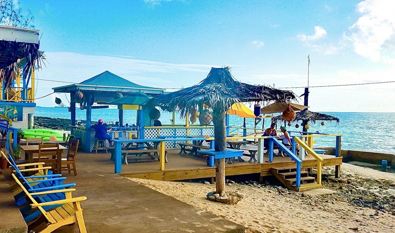 Leorose Sunset Beach Bar and Grill, Eleuthera, Bahamas